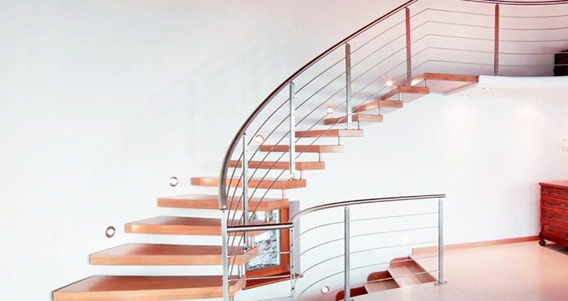 Tipologie forme e materiali per la scala dei vostri sogni for Piani di gabinetto artigiano